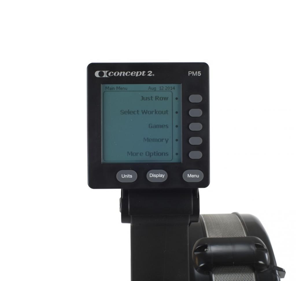 rowing machine concept 2 model d pm5 console rental sale